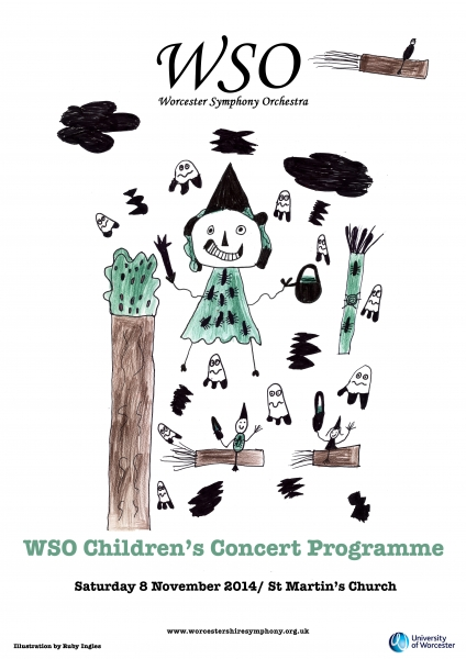 8th November 2014 Programme cover art