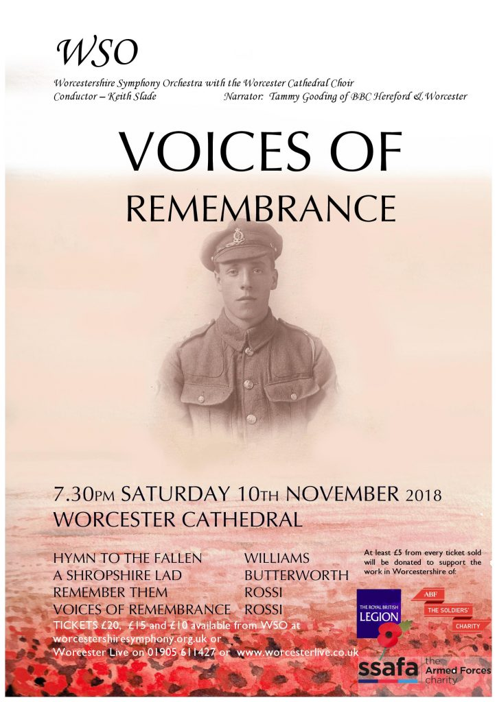 Voices of Remembrance Concert
